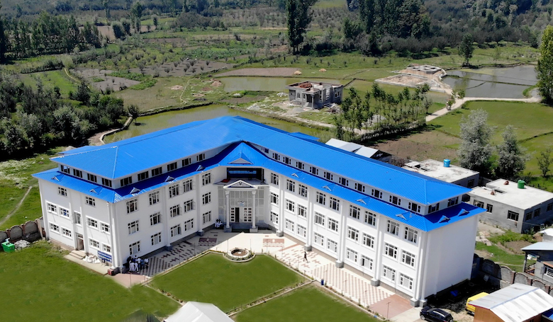 Arial photo of the Dolphin International School